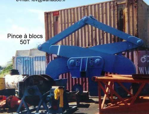 Pince à blocs 50T