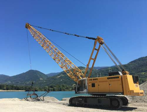 Dragline on Liebherr
